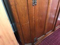 Antique double wardrobe - Crown AY c