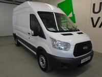 Ford Transit 2.2 Tdci 125Ps H3 Van High Roof DIESEL MANUAL WHITE (2016)