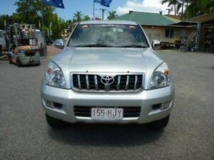 2003 Toyota Landcruiser Prado KZJ120R GXL Silver Manual Wagon Rosslea Townsville City Preview
