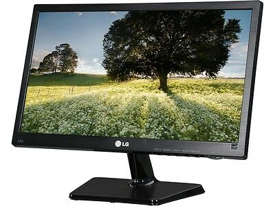 "شاشة ليد جديد LG 19M37D-B Black 18.5"" 5ms Widescreen LED Backlight LCD Monitor"