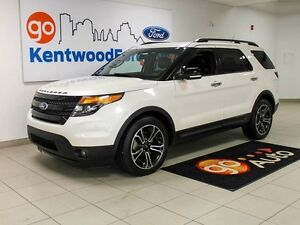 2014 Ford Explorer SPORT, AWD, LEATHER, NAV, DUAL MOONROOF.,