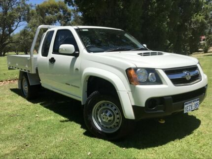 2010 Holden Colorado RC MY11 LX Space Cab White 5 Speed Manual Cab Chassis