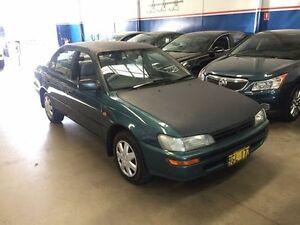 1996 Toyota Corolla AE102X Conquest Blue 4 Speed Automatic Sedan Beckenham Gosnells Area Preview