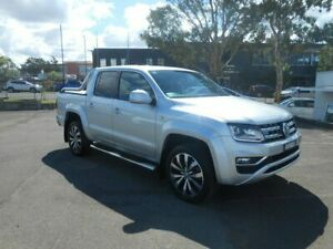 2016 Volkswagen Amarok 2H MY17 TDI550 4MOTION Perm Ultimate Highlight Silver 8 Speed Automatic