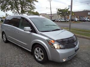 2009 Nissan Quest S TOP OF THE LINE DUEL ENTERTAINMENT MOON&SUNR