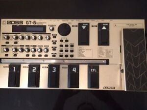 Boss GT6 Guitar Effects Processor
