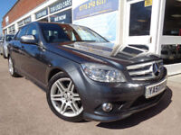 Mercedes-Benz C220 2.1TD auto 2008 CDI Sport F/S/H Finance Available p/x