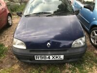 AUTOMATIC RENAULT CLIO 1.4 GOOD CONDITION DRIVES SUPER NO FAULTS ONLY 60000 MILES ONE YEAR MOT