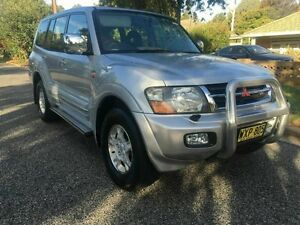 2000 Mitsubishi Pajero NM Exceed LWB (4x4) Silver 5 Speed Auto Sports Mode Wagon Hillcrest Port Adelaide Area Preview