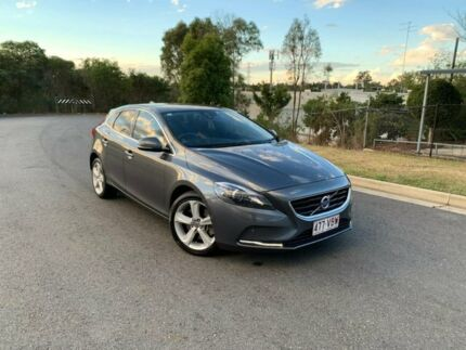 2014 Volvo V40 M Series MY14 T4 Adap Geartronic Luxury Grey 6 Speed Sports Automatic Hatchback Darra Brisbane South West Preview