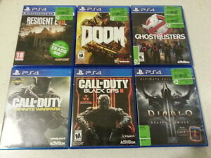 PLAYSTATION PS4 GAMES FOR SALE