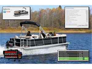 2016 Legend Boats Bayshore Flex Pontoon Boat