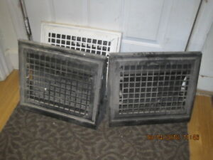 Antique Wall Mounted Heat Registers