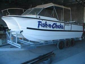 Sharkcat catamaran powerboat 23ft Fremantle Fremantle Area Preview