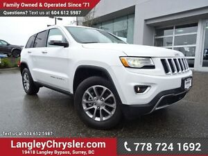 2016 Jeep Grand Cherokee Limited ACCIDENT FREE w/ ADVANCED TE...