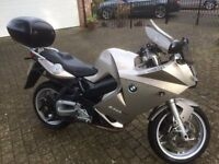 BMW F800ST ABS, topbox, alarm, heated grips, centre stand, electric start, LED indicators, BMW serv