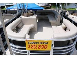 2016 PONTOONS ARE ON SALE, AND THERE IS ONLY 3 LEFT. NO FREIGHT Peterborough Peterborough Area image 12