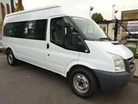 FORD TRANSIT 15 SEAT MINIBUS 2008 WELL SERVICED EXCELLENT CONDITION NORTH LONDON