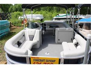 2016 PONTOONS ARE ON SALE, AND THERE IS ONLY 3 LEFT. NO FREIGHT Peterborough Peterborough Area image 2