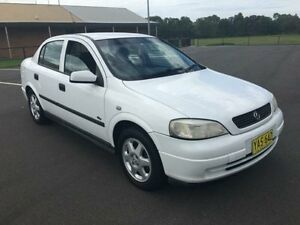 2002 Holden Astra TS City White 5 Speed Manual Sedan Condell Park Bankstown Area Preview