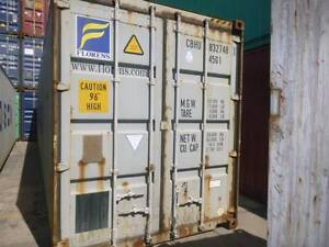40' B Grade Shipping Containers Singleton Singleton Area Preview