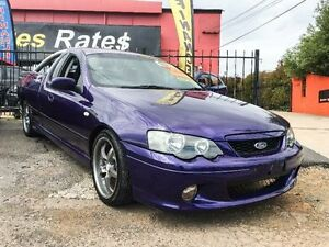 2002 Ford Falcon BA XR6 Purple 5 Speed Manual Utility Fyshwick South Canberra Preview