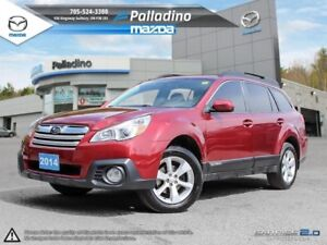 2014 Subaru Outback AWD-VERSITILE AND RUGGED- FOG LAMPS-BLUETOOT