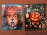 3 Children's Books - face painting, Halloween & Where's Wally