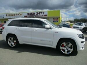 2015 Jeep Grand Cherokee WK MY15 SRT White 8 Speed Sports Automatic Wagon Kedron Brisbane North East Preview