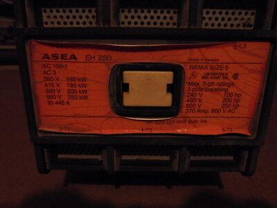 Esea Abb Contactor Eh-250 3 Pole 250 Hp Nema Size 5