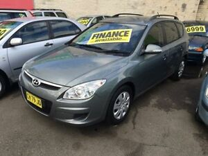 2009 Hyundai i30 FD MY09 SLX Grey 4 Speed Automatic Wagon Lidcombe Auburn Area Preview