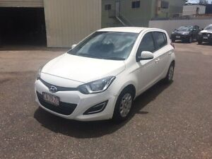 2012 Hyundai i20 PB MY12 Active White 4 Speed Automatic Hatchback Holtze Litchfield Area Preview