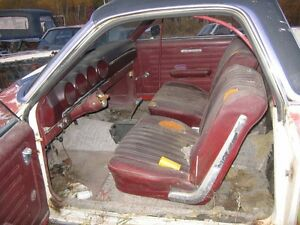 68 Ford Ranchero 390 GT buckets console parts or project