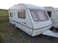 2002 Swift Charisma 545, 4/ 5 berth end bedroom. Excellent condition. NO DAMP.