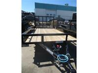 NEW 2015 LAMAR CLASSIC UTILITY, 2 X 3500LB AXLES WITH BRAKES
