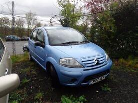 2007 Citren C3 1,4 Petrol 5 door ,MOT'd June 18 £895