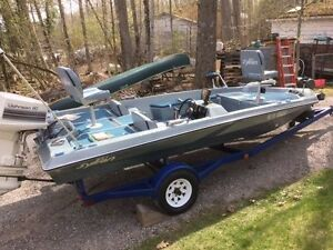 1985 Sylvan Pro Missile Bass Boat,1984 Johnson REDUCED!