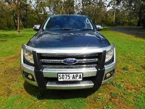 2011 Ford Ranger PX XLT Double Cab Grey 6 Speed Manual Utility Tanunda Barossa Area Preview