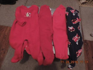 Size 6 month Fleece Sleepers