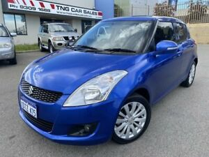 2011 Suzuki Swift FZ GLX Blue Automatic Hatchback Wangara Wanneroo Area Preview
