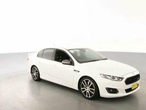 2015 Ford Falcon FG X XR6T White 6 Speed Auto Seq Sportshift Sedan