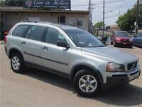 2004 Volvo XC90 2.5T A SR/7 PASSENGER/FULLY LOADED/SUNROOF/AWD