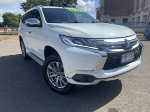 2018 Mitsubishi Pajero Sport QE MY18 GLX White 8 Speed Sports Automatic Wagon Townsville Townsville City Preview