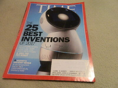 TIME MAGAZINE-NOVEMBER 27, 2017-THE 25 BEST INVENTIONS OF