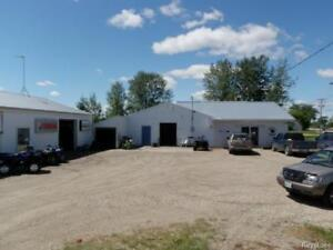 Commercial opportunity! Land and buildings in Shoal Lake MB
