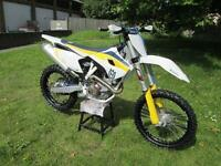 Husqvarna TC 449cc 2015 MODEL YEAR 450 Moto Cross 450