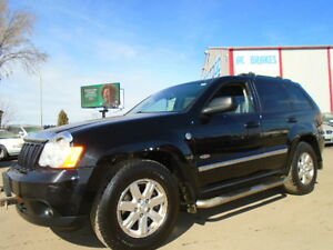 2008 JEEP GRAND CHEROKEE LAREDO-LEATHER-SUNROOF-3.0L DIESEL