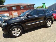2013 Jeep Grand Cherokee WK MY13 Laredo (4x4) Black 5 Speed Automatic Wagon Sylvania Sutherland Area Preview