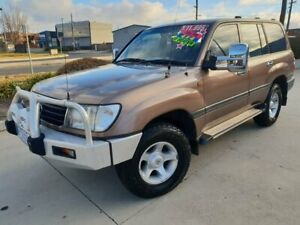 2000 Toyota Landcruiser FZJ105R GXL Bronze 4 Speed Automatic Wagon Fyshwick South Canberra Preview