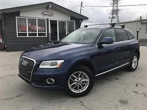 2013 Audi Q5 2.0L Premium Plus|NAV|CAM|PANO|BLIND SPOT|LEATHER